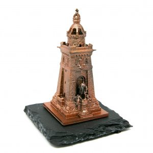 Kyffhäuserdenkmal 3D-Druck Bronzefarben