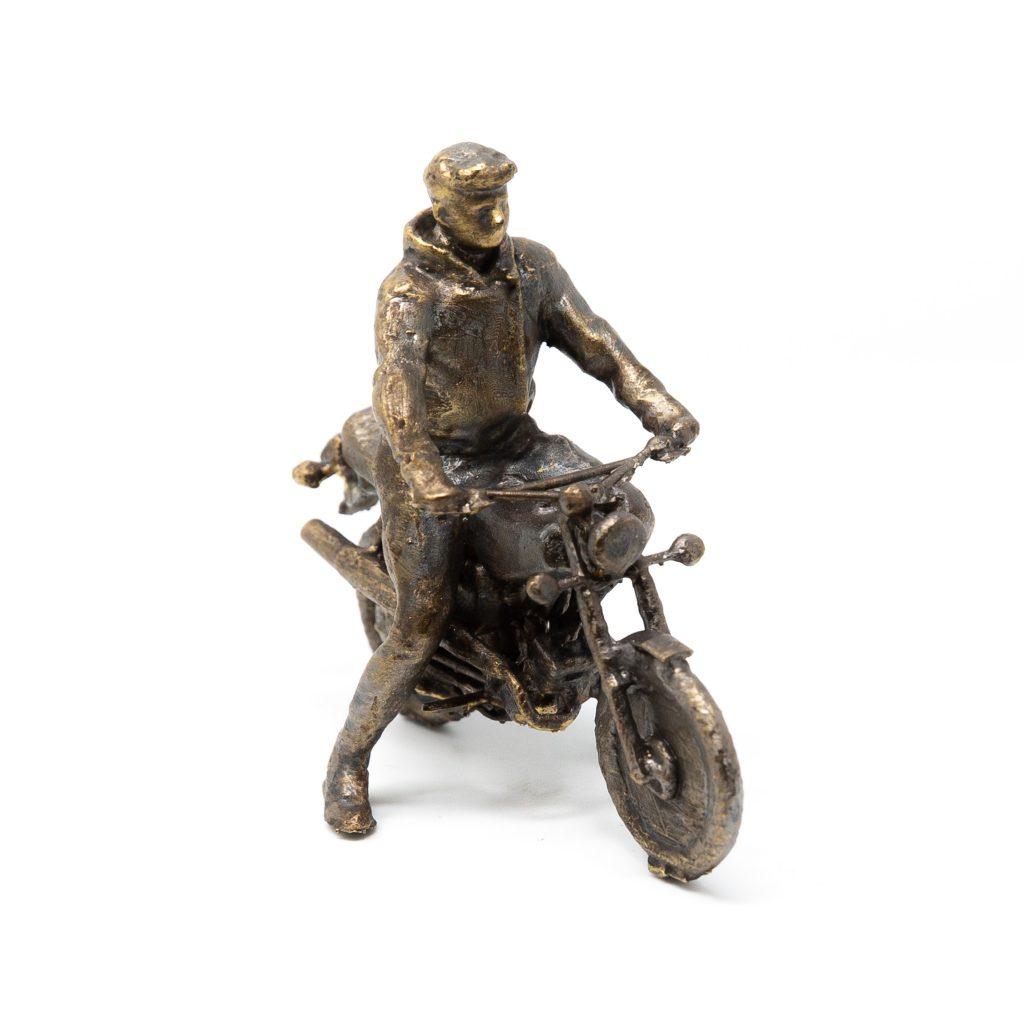 ZK-MEDIEN ‣ Bronzeskulptur Simson S51
