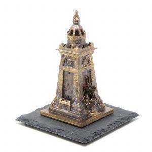 Kyffhäuserdenkmal 3D-Druck Messingfarben
