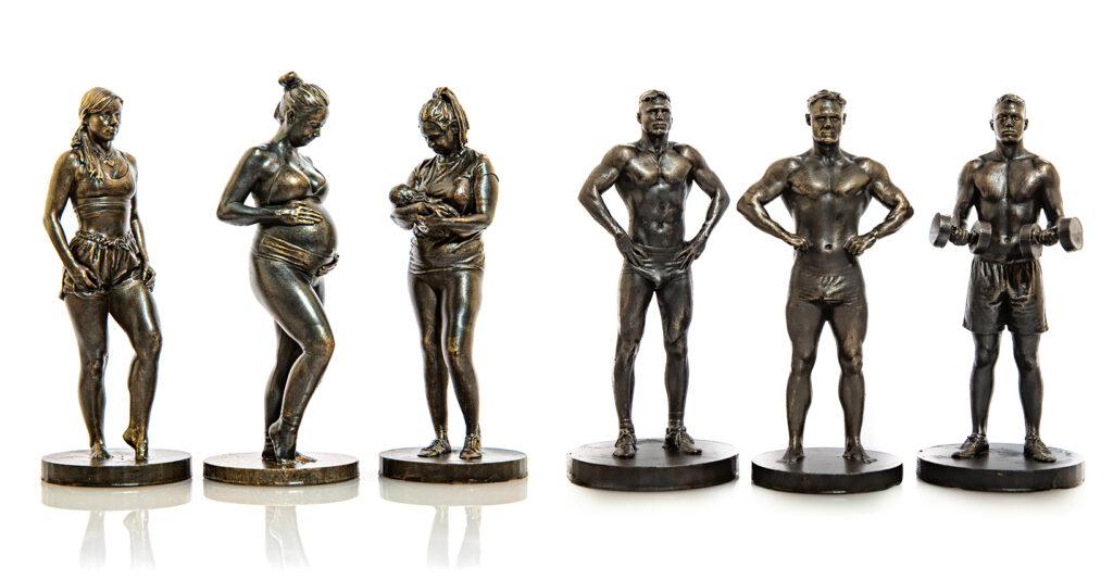 ZKMEDIEN ‣ Eigene Figur als 3DSkulptur