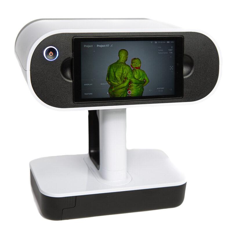 ZKMEDIEN ‣ artec leo 3d scanner
